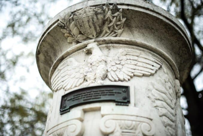 Cuban Friendship Urn Eagle