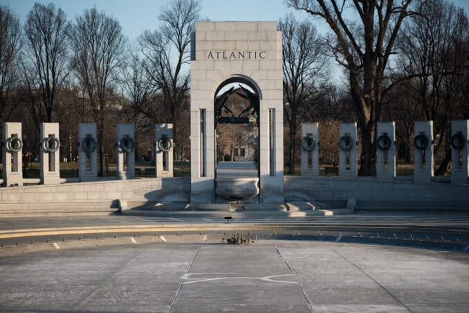 National World War II Memorial - March 9, 2016