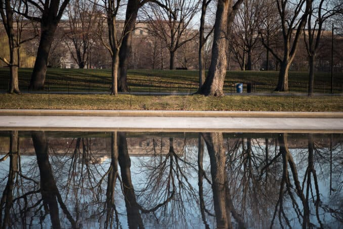 Lincoln Memorial Reflecting Pool - March 9, 2016
