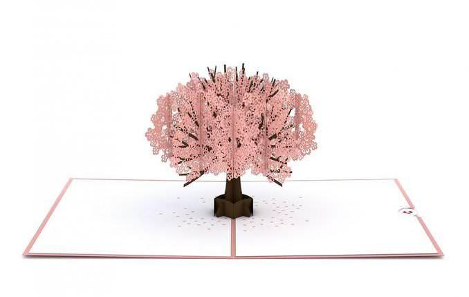 LovePop Cherry Blossom Card