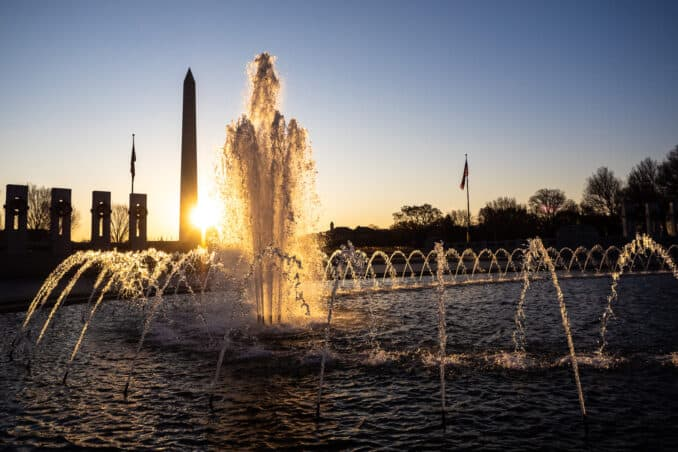 National World War II Memorial Fountain
