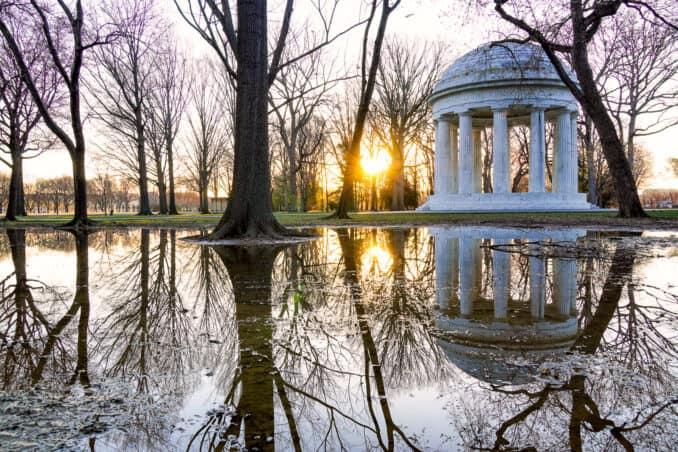 DC World War I Memorial Reflection